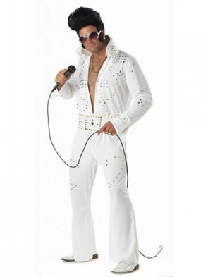 Rock Legend Elvis Presley Costume