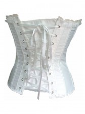 Diamond And Floral Brocade Corset