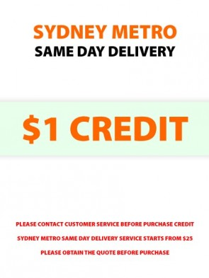 Sydney Metro Same Day Delivery Service Credit