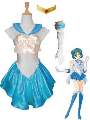 Light Blue Sailor Mercury Costume