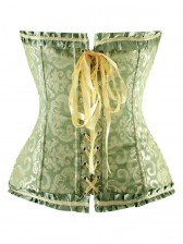 Floral Embroidered Corset
