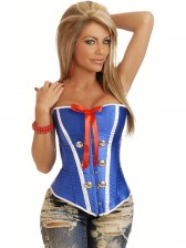Daisy Sexy Sailor Burlesque Corset