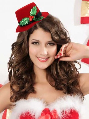 Peppermint Princess Christams Mini Top Hat