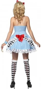 Womens Playing Card Alice Costume