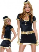 1920's Sexy Flight Attendant Costume