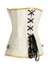 Splendid Gold Satin and Brocade Corset