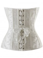 Embroidered Overbust Corset