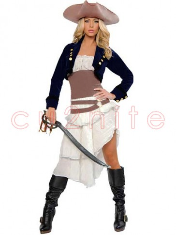 Colonial Pirate Costume