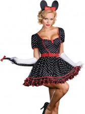 Pin-up Mousin Around Minnie Mouse Costume