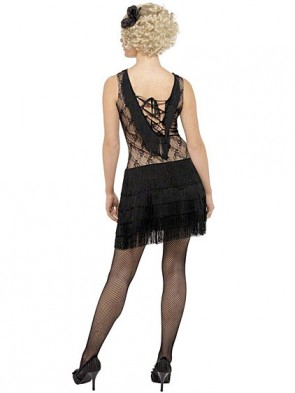 Women's Black Flapper Costume