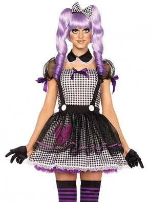 Maid Dollie Adult Babydoll Halloween Costume