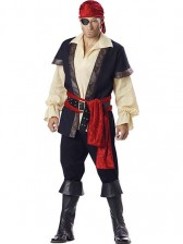 Deluxe Mens Pirate Costume