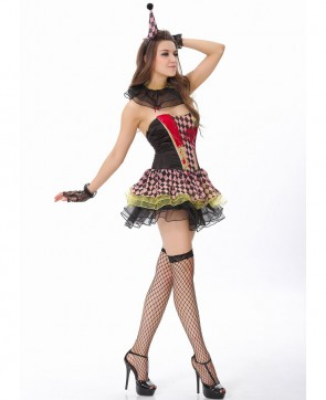 Zombie Circus Clown Costume
