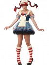 Teen Deluxe Rag Doll Costume