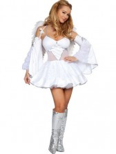 Heavenly Angel Costume w/ Feather Wings