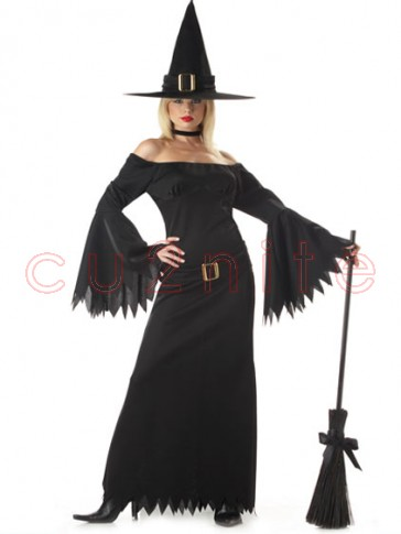 Deluxe Elegant Witch Costume