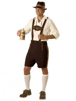 Bavarian Guy Oktoberfest Costume