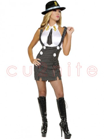 Sexy Lady Gangster Costume