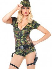 Boot Camp Babe Soldier Costume