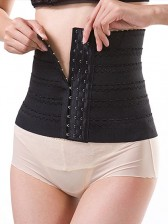 Super Slim Waist Training Corset Waist Shaper Black
