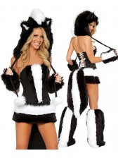 Naughty Skunk Costume