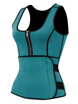 Women's Latex Waist Training Vest Corset with Girdles