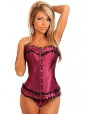 Delightful Tenderness Corset - Magenta