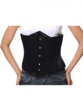Waist Training Corset Underbust 26 Steel Bones Cincher Double Steel Boned