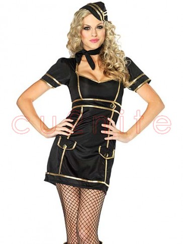 Sultry Stewardess Costume