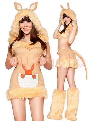 Kangaroo Fur Costume Set