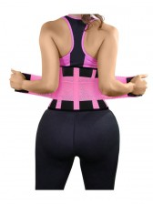 Workout Pink Neoprene Waist Trainer Belt for Hourglass Figure