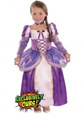 Deluxe Girls Tangled Rapunzel Disney Princess Costume