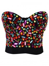 Sweets Studded Gem B Cup Bustier Bra