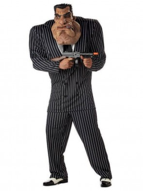 Massive Mobster Mens Costume