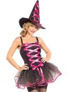Adult Pink Ballerina Witch Costume