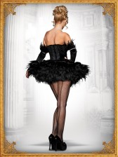 Fancy Seductive Black Swan Costume