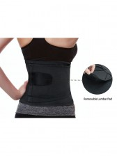 Workout Black Waist Trainer Belt for Hourglass Figure