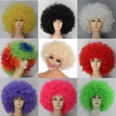 70s Afro Wigs with 9 Colour Choices