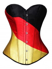 Fashion German Flag Corset