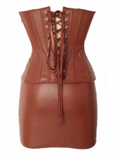 Leather Corset Studded Sets & Pettiskirt