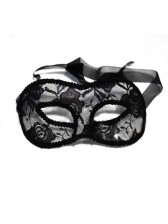 Burlesque Style Lace Masquerade Mask
