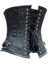 Brocade Steel Boned Steampunk Underbust