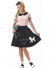 50s Sock Hop Sweetie Costume Set