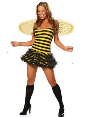 Bee Happy Costume with Wings