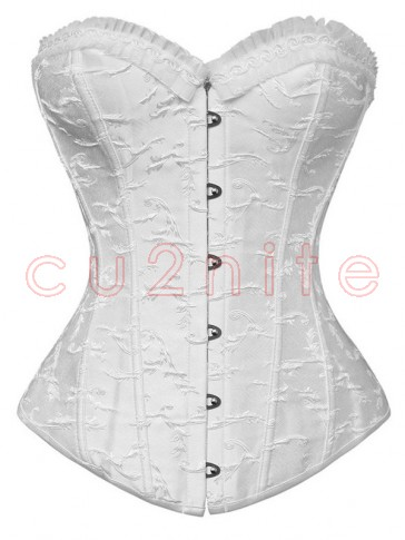 Elegant Embroidered Shape Corset