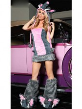 Deluxe Pink Elephant Costume Set
