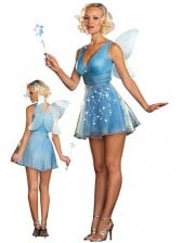 True Blue Fairy Light Up Costume