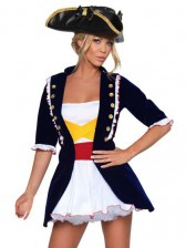 Royal Pirate / Sexy Washington Costume