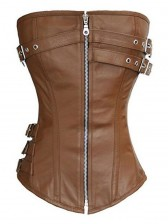 Steampunk Gothic Long Torso Body Shaper Corset