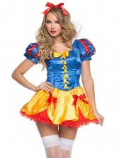 Adult Fairy Tale Halloween Snow White Costume